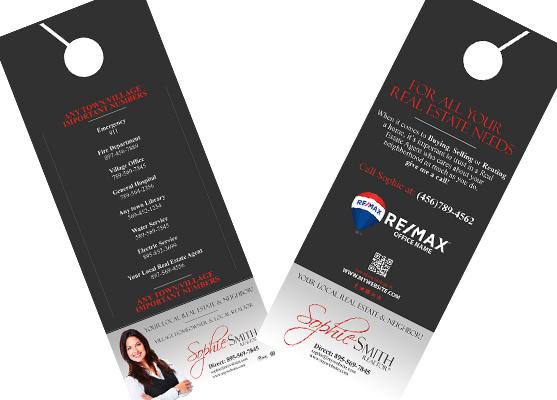 Remax Door Hangers | Remax Door Hanger Templates, Remax Door Hanger designs, Remax Door Hanger Printing, Door Hanger Ideas