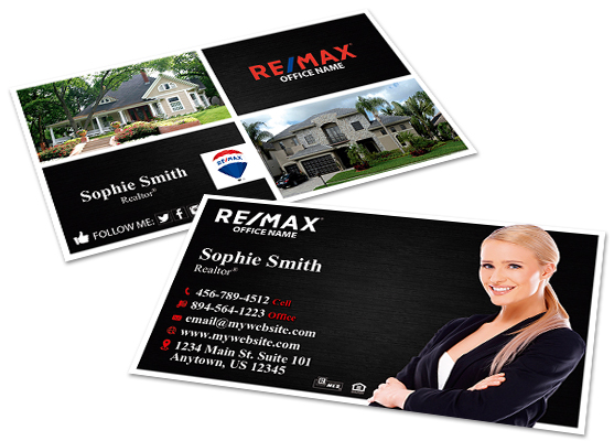 Business Cards, Remax Business Cards | Remax Business Card Templates, Remax Business Card designs, Remax Business Card Printing