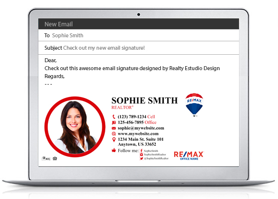 Remax Email Signatures | Remax Email Signature Templates, Remax Email Signature designs, Remax Email Signature Ideas, Email Signatures