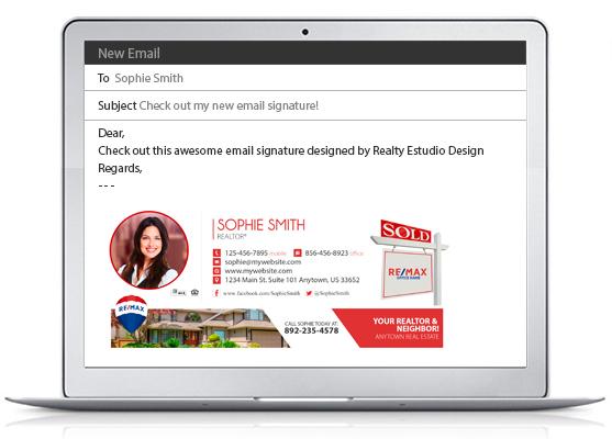 Remax Email Signatures   Remax Email Signature Templates, Remax Email Signature designs, Remax Email Signature Ideas, Email Signatures