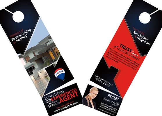 Remax Door Hanger Tear Off Card | Remax Hanger with Card Templates, Remax Hanger with Card designs, Remax Hanger with Card Printing
